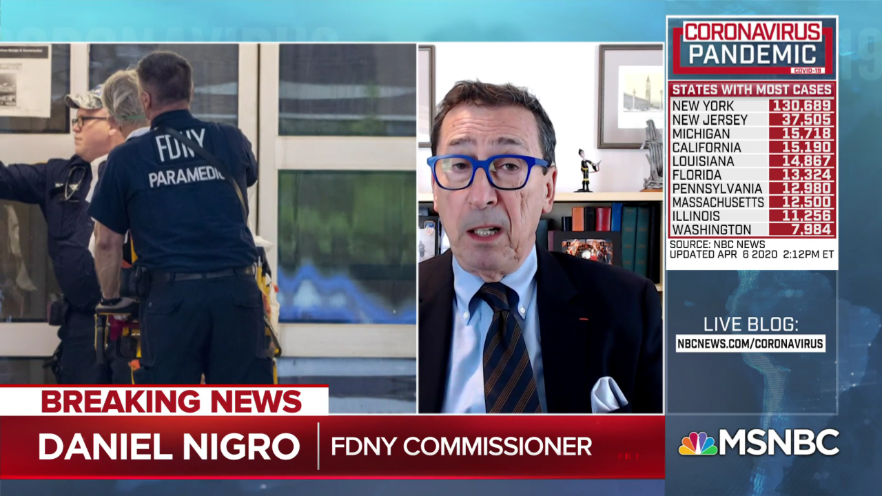 FDNY Commissioner says 'over 2,000 FDNY and EMS' members out sick